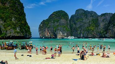 Turysta zakaził się wirusem w czasie pobytu na wyspie Koh Phi Phi