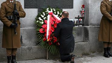 Prezydent Andrzej Duda podczas dnia pamięci Żołnierzy Wyklętych: - To muzeum jest ostatecznym wypaleniem piętna zdrady na komunistycznych oprawcach, tak żeby ich nazwisk i imion nikt już nigdy nie wymieniał z szacunkiem - mówił na terenie dawnego aresztu śledczego przy ul. Rakowieckiej w Warszawie
