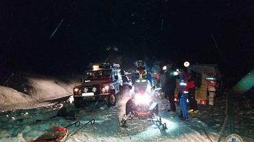 Nocna akcja GOPR w Bieszczadach