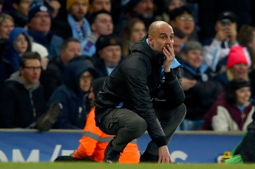 Pep Guardiola, trener Manchesteru City