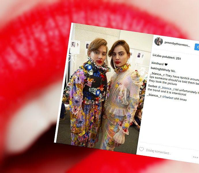 Lolipop lips to najnowszy trend w makijażu ust, który raczej nie przyjmie się na ulicach