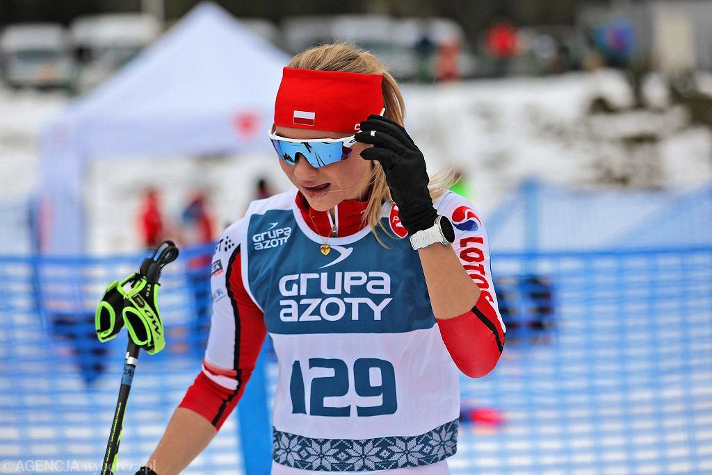 Izabela Marcisz podczas mistrzostw Polski w Zakopanem