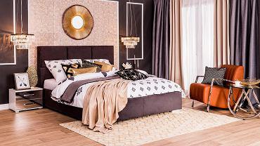 Aranżacja sypialni w stylu art deco