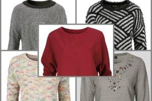 Bluzy i swetry wciągane przez głowę z C&A