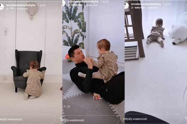 Anna Lewandowska pokazała zdjęcia Laury i Roberta