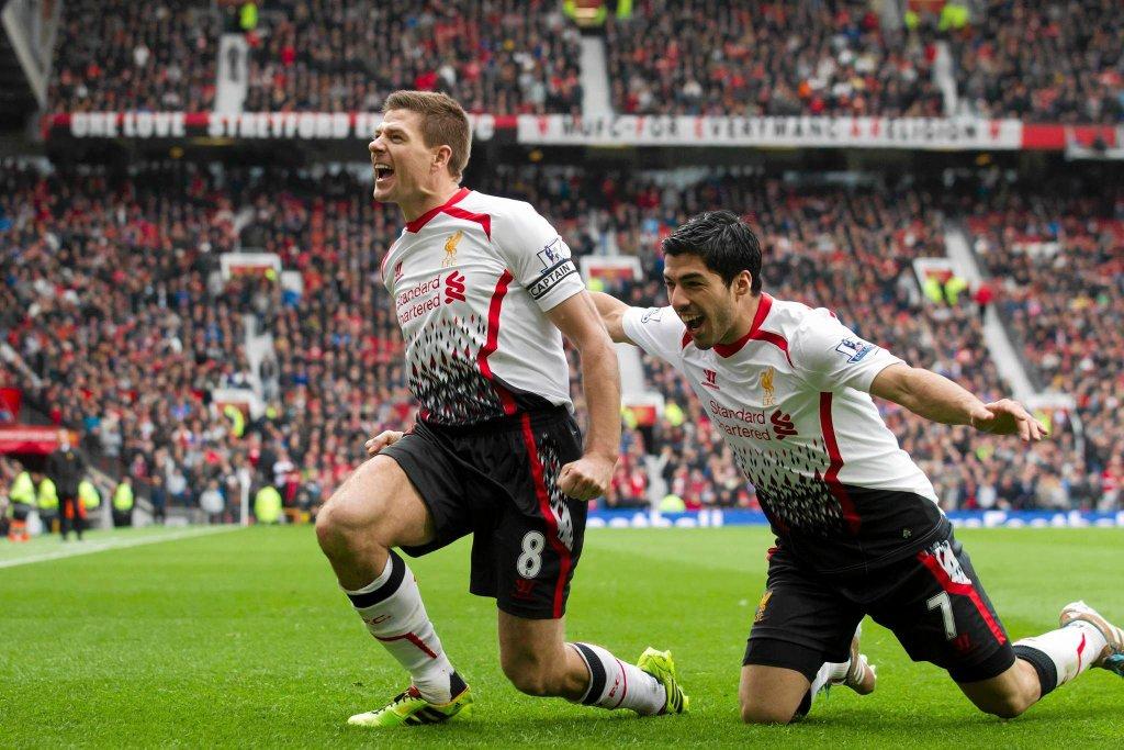 Steven Gerrard i Luis Suarez