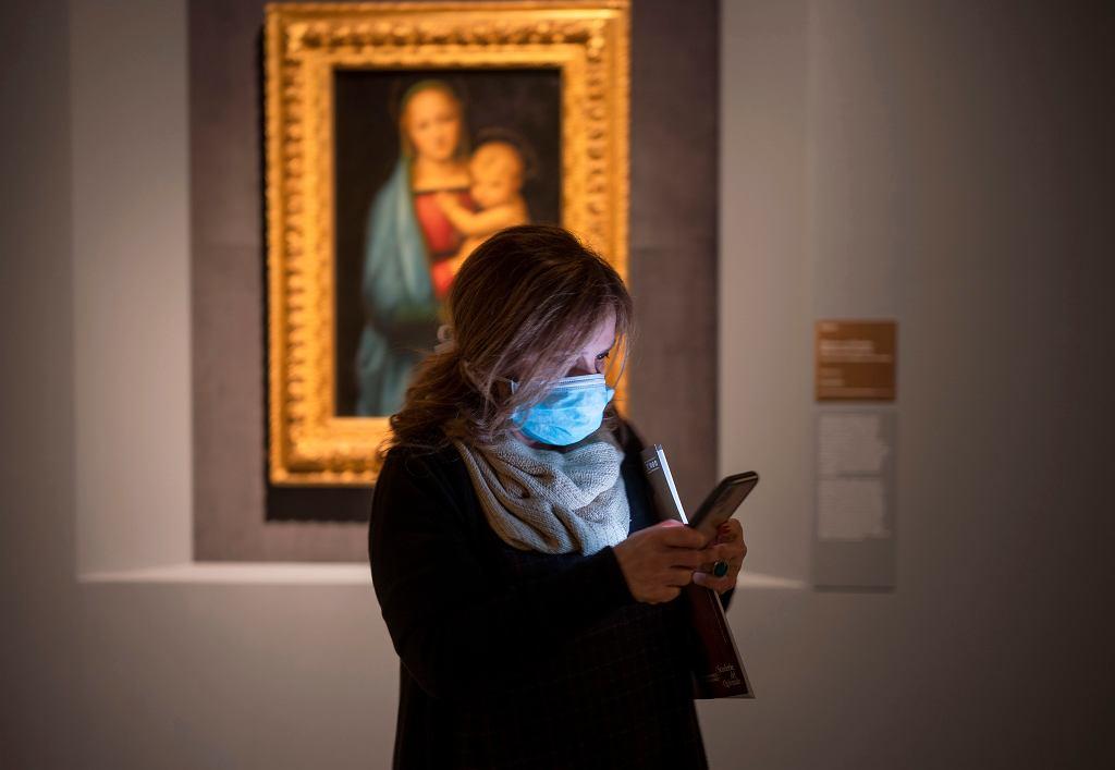 Wystawa dzieł Rafaela w Rzymie, 4 marca 2020 r.