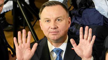 Wybory prezydenckie 2020. Andrzej Duda w Szczytnie