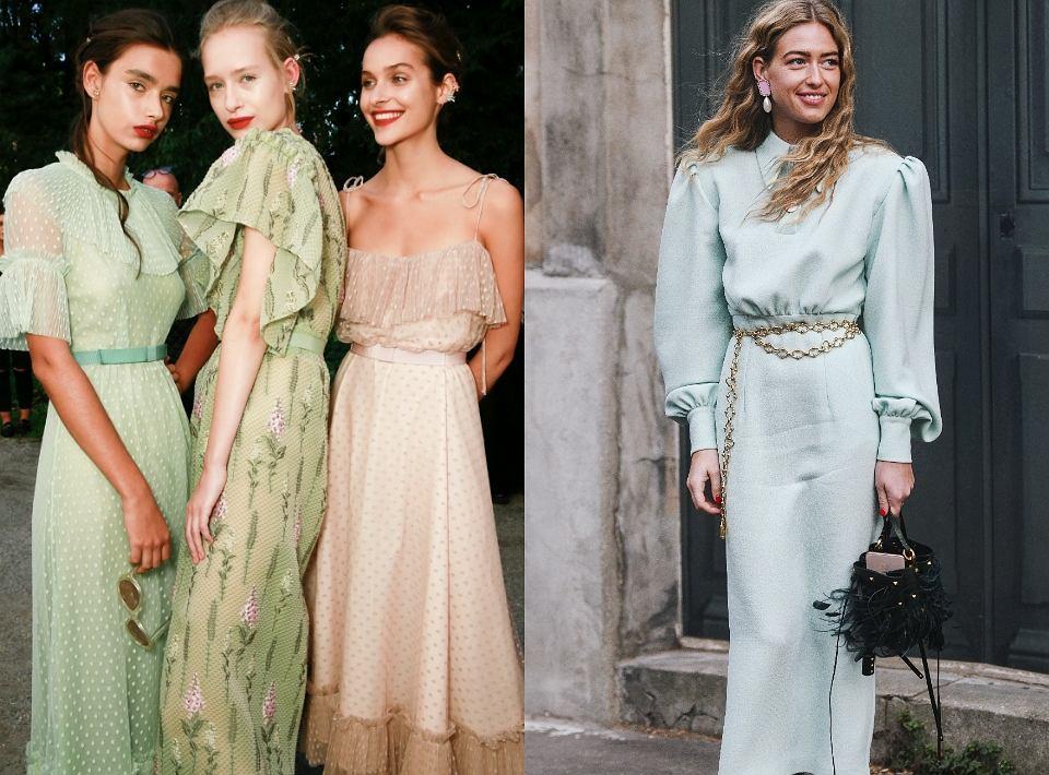 Pastelowe sukienki na wiosnę 2020