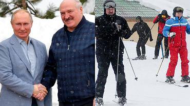Putin, Łukaszenka