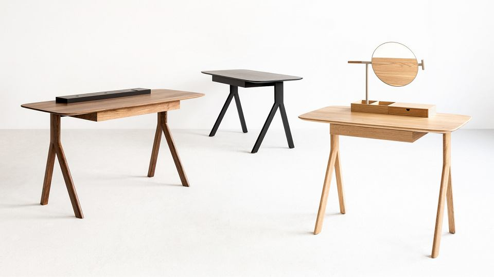 Stylowe biurka o ponadczasowej formie od marki Noti.
