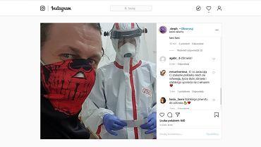 Koronawirus. Pierwszy w Podlaskiem zakażony pacjent to muzyk blackmetalowy Krzysztof Drabikowski. Wyznał to sam w mediach społecznościowych