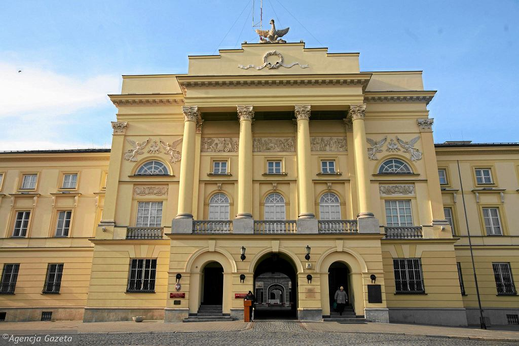 Pałac Mostowskich, siedziba Komendy Stołecznej Policji