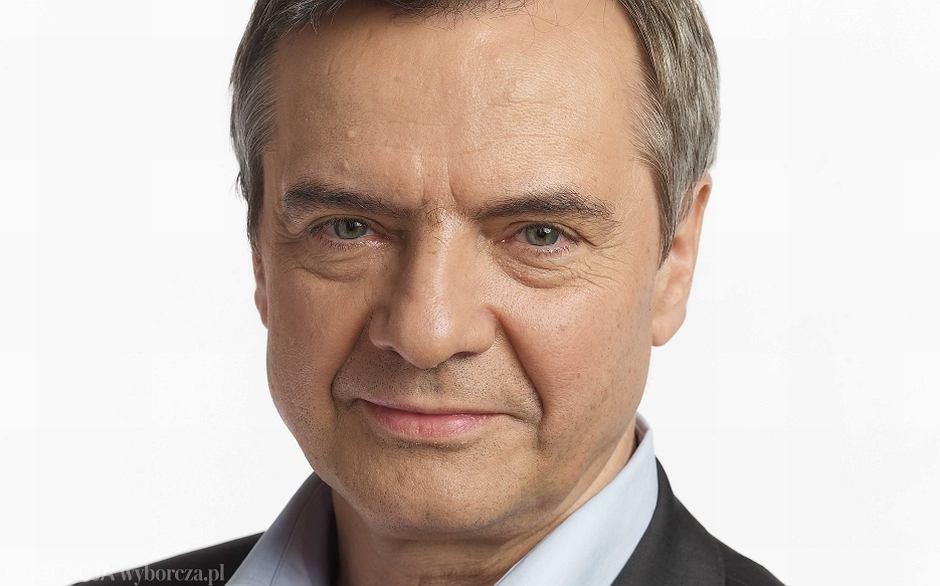 Jerzy Baczyński, redaktor naczelny tygodnika 'Polityka'