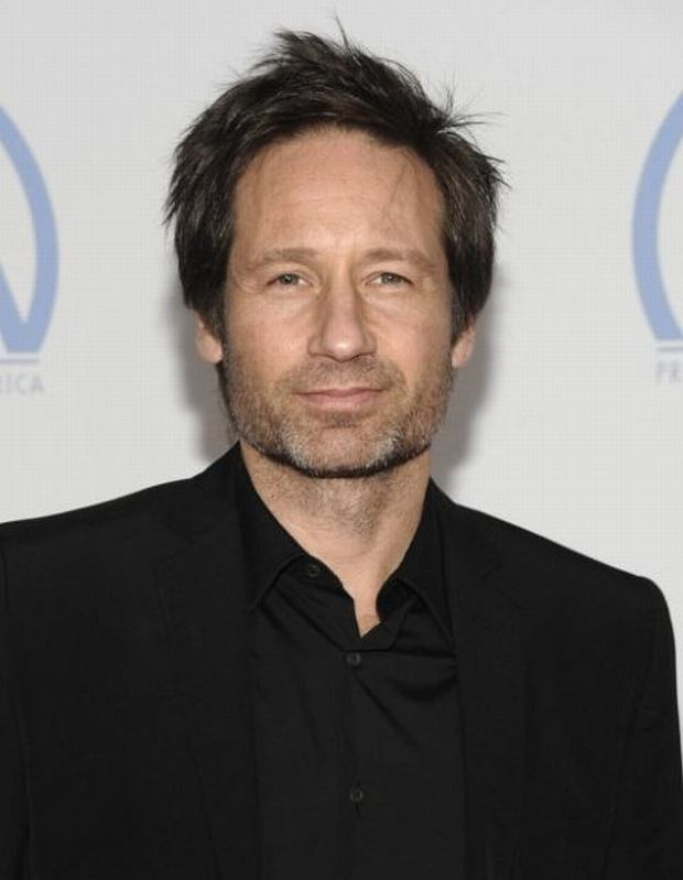 Actor David Duchovny arrives at the Producers Guild of America Awards in Los Angeles on Sunday, Jan. 24, 2010.  (AP Photo/Dan Steinberg)