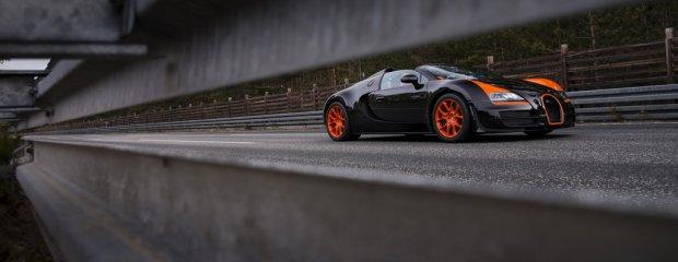 Rekordowy Bugatti Veyron Grand Sport Vitesse