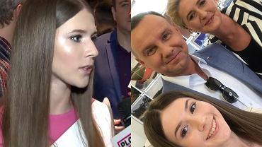 Roksana Węgiel / Roksana Węgiel z prezydencką parą