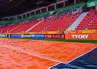 Mistrzostwa świata U20. Murawę w Tychach przykryła specjalna mata