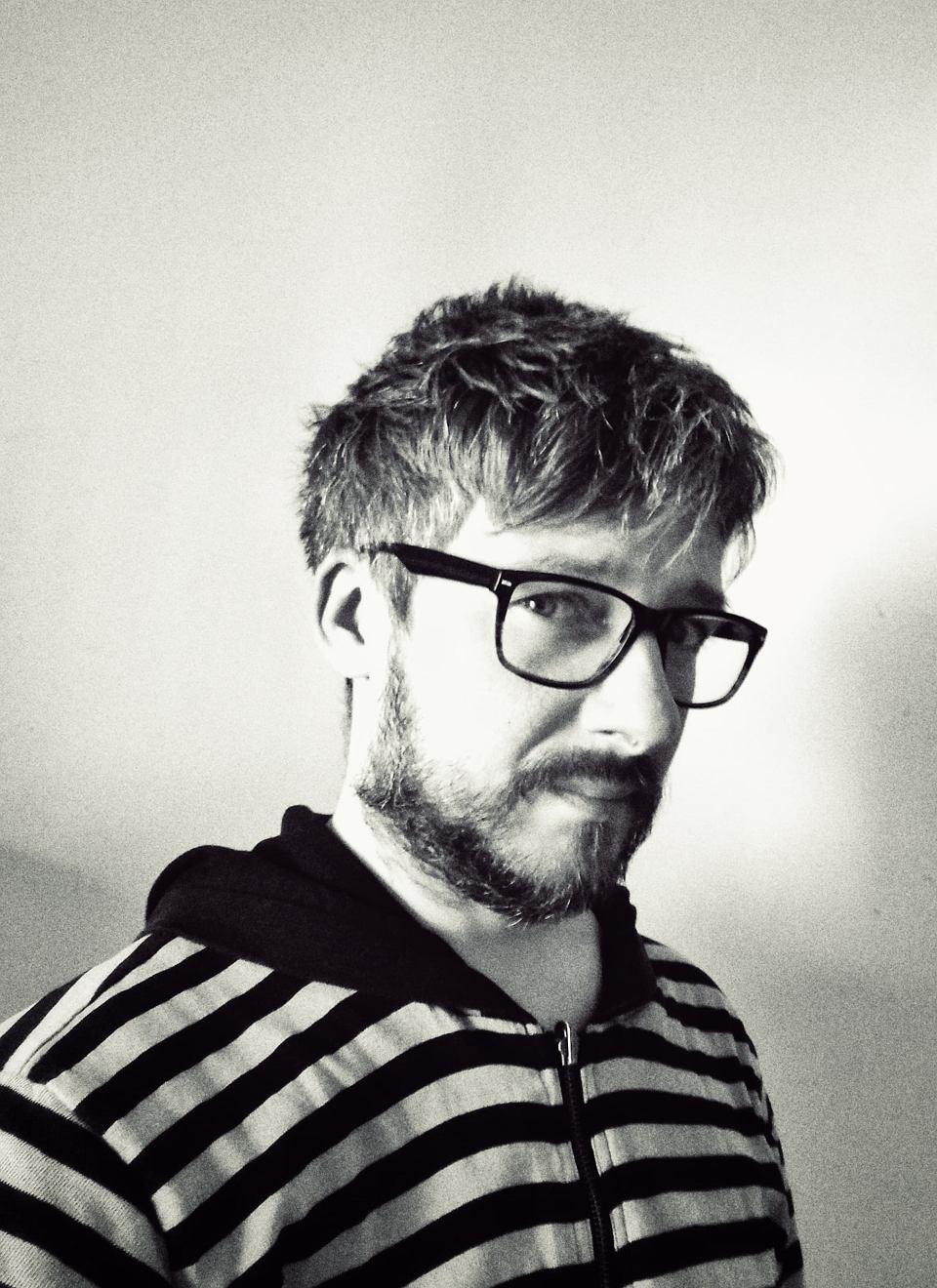 Marcin Zegadło, pisarz, poeta, mieszka w Częstochowie