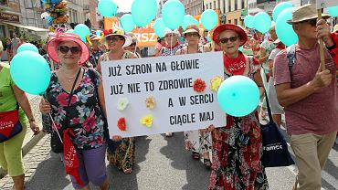 Piąta Parada Seniorów przeszła ulicami Warszawy
