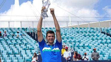 Hurkacz najwyżej w karierze w rankingu ATP. Wyżej byli tylko Fibak i Janowicz!