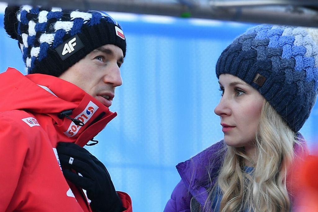 Kamil Stoch, Ewa Bilan-Stoch