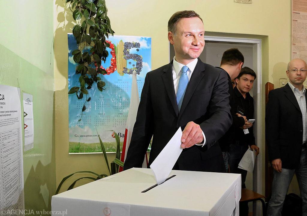 Wybory prezydenckie, 10.05.2015 r.
