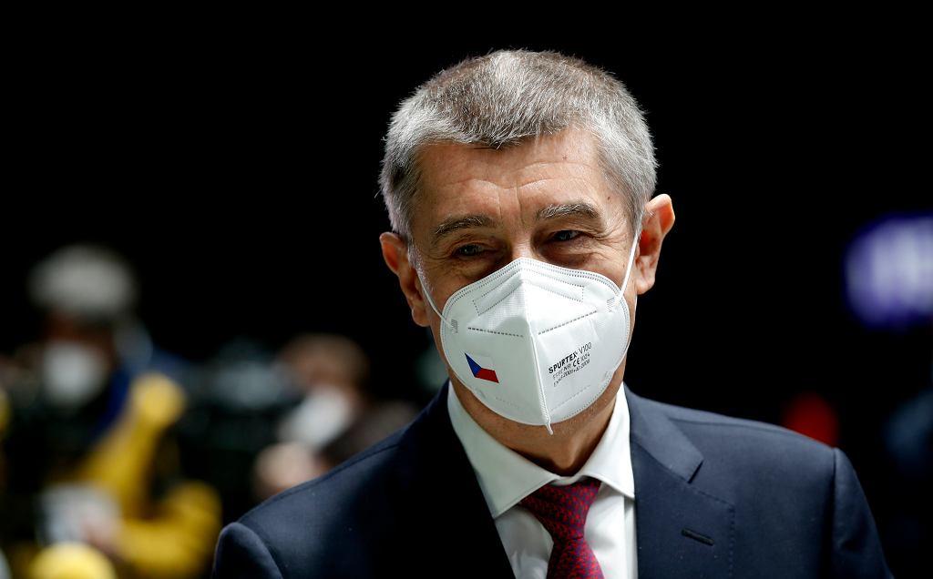 Czechy wydalą 18 rosyjskich dyplomatów. Na zdjęciu Andrej Babis, premier Czech.