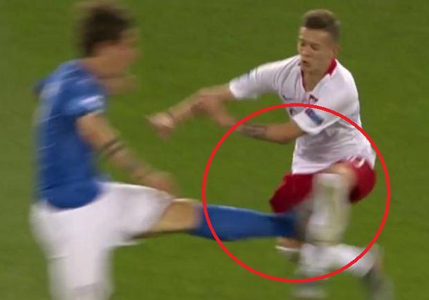 2950473f8 Sebastian Szymański nie zagra w najważniejszym meczu Euro U-21? Złe  informacje po brutalnym