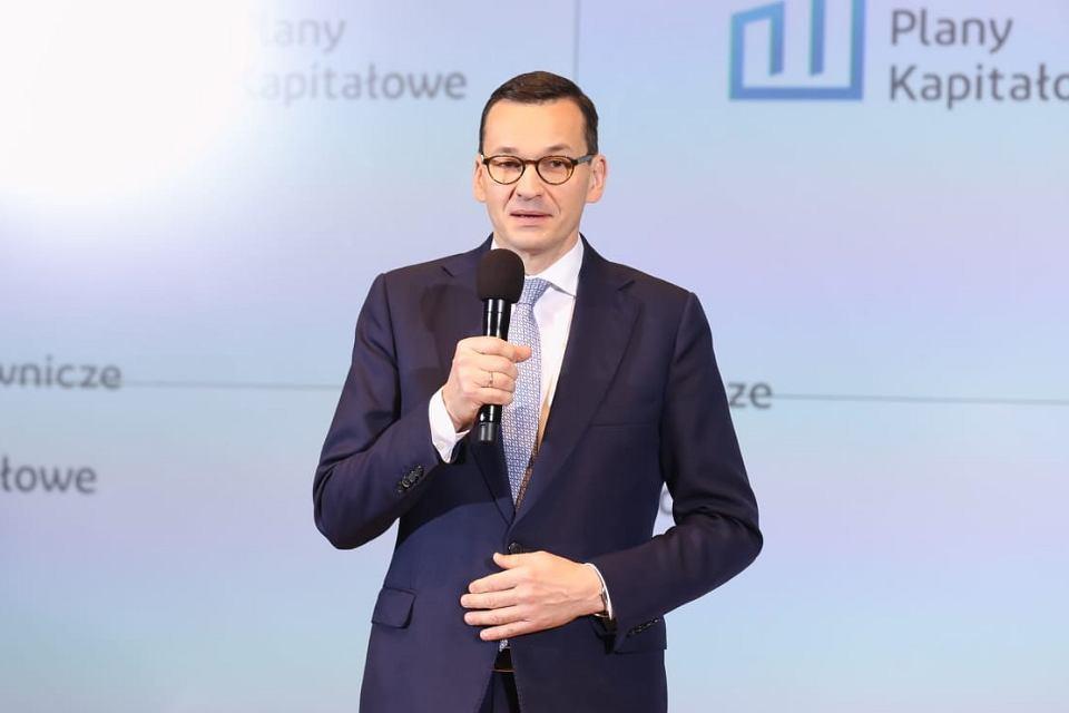 Premier Mateusz Morawiecki. Pracownicze Plany Kapitałowe stały się faktem