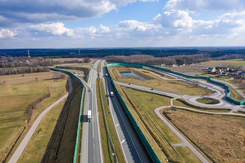 Autostrada A2, węzeł Kałuszyn