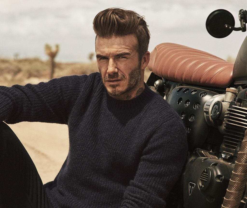 David Beckham i Modern Essentials