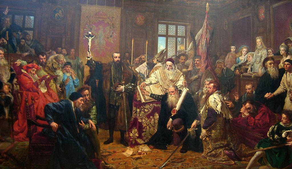 Unia Lubelska, obraz Jana Matejki