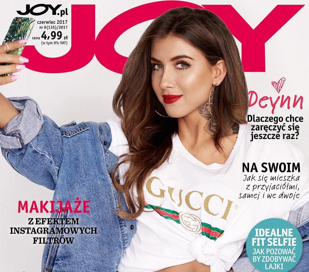 Marita Surma na okładce polskiego wydania 'Joy'