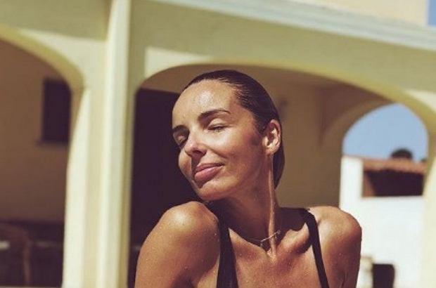 Agnieszka Włodarczyk w basenie