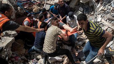 Konflikt Izraelsko-Palestyński - trwa bombardowanie Strefy Gazy