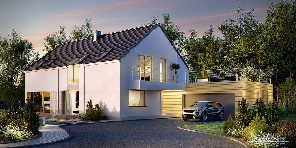Home Koncept - projekty domów nowoczesnych