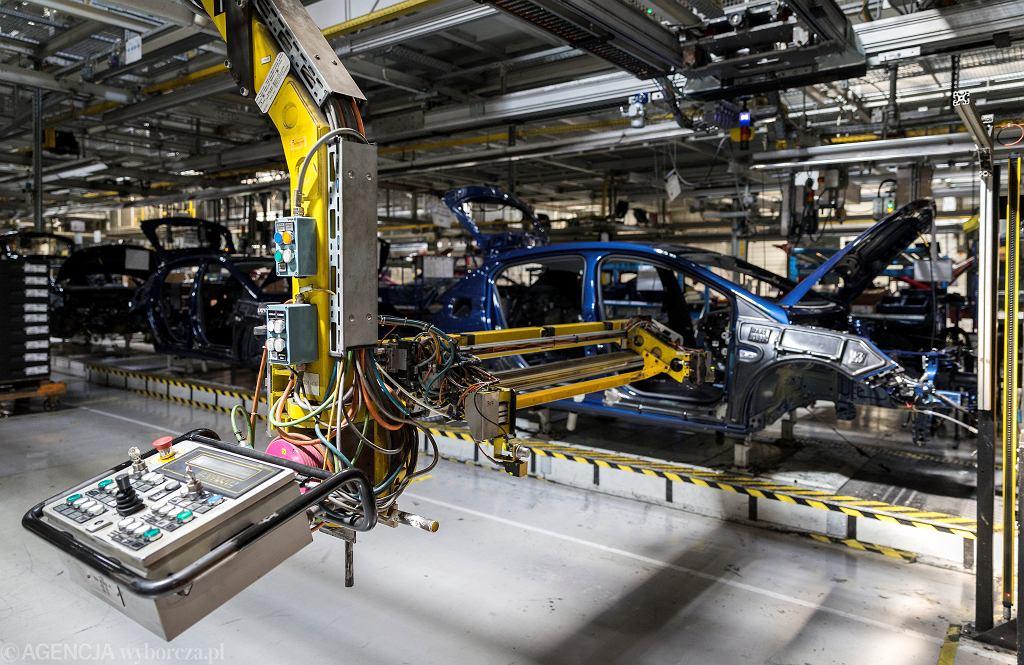 21.04.2020, Gliwice, zawieszona produkcja w fabryce samochodów Opel.