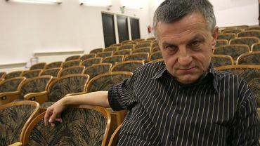 Prof. Andrzej Zybertowicz podczas ogólnopolskiego zjazdu socjologów. Zielona Góra, 14 września 2007