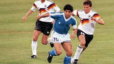 Finał 1990. Przy piłce Diego Maradona