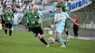 Marcin Warcholak, dotychczasowy piłkarz Stomilu, teraz będzie grał w Arce Gdynia