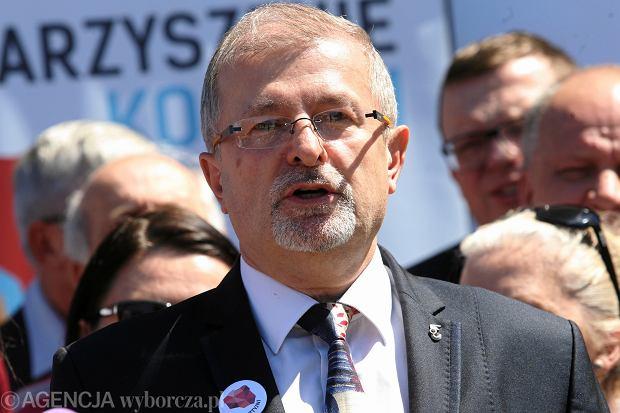 Konferencja prasowa kandydata na prezydenta Warszawy Sławomira Antonika