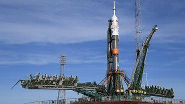 Rakieta Sojuz gotowa do startu