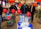 Piłkarze Śląska Wrocław wzięli udział w akcji Szlachetna Paczka