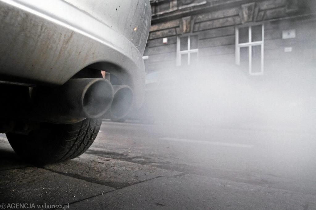Samochód, zanieczyszczenie powietrza