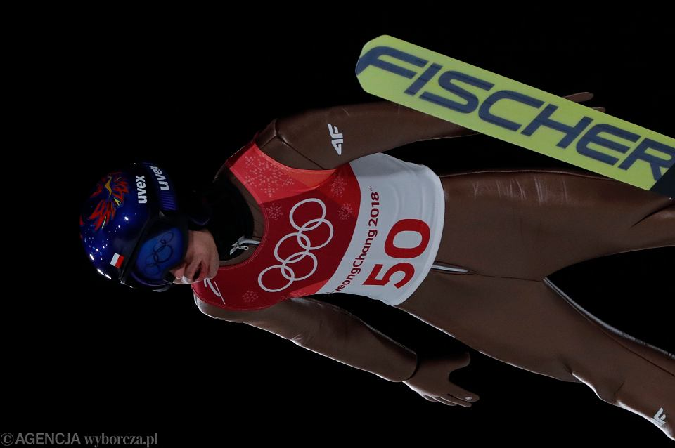 Kamil Stoch zdobywa trzecie złoto olimpijskie. Pjongczang, 17 lutego 2018