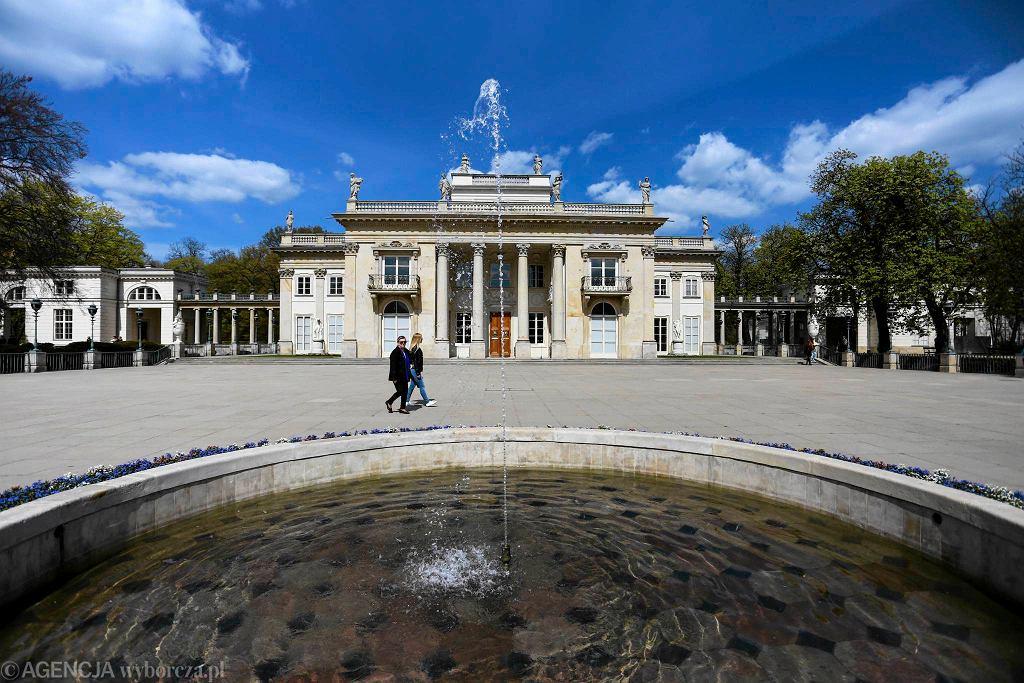 Łazienki Królewskie. Pałac na Wyspie / ADAM STĘPIEŃ