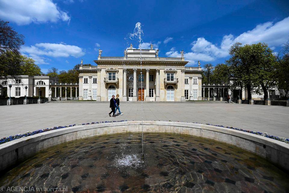 Pałac Na Wyspie Już Nie Utonie Królewski Remont