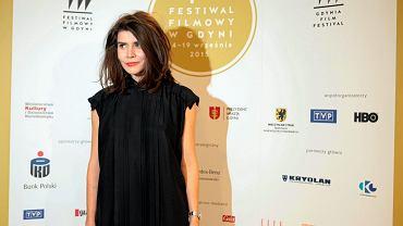 19.09.2015 Gdynia . Ceremonia wręczenia nagród i zamknięcia 40 . Festiwalu Filmowego w Gdyni . Małgorzata Szumowska