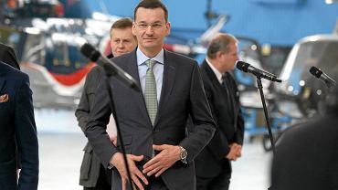 Premier Morawiecki w PZL Świdnik